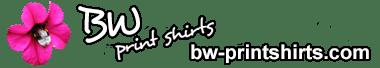 BW print shirts